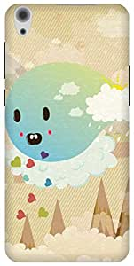 The Racoon Grip Cuteness Overload hard plastic printed back case/cover for Lenovo S850