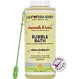 California Baby - Aromatherapy Bubble Bath With Bubble Wand Chamomile & Herbs - 13 oz.