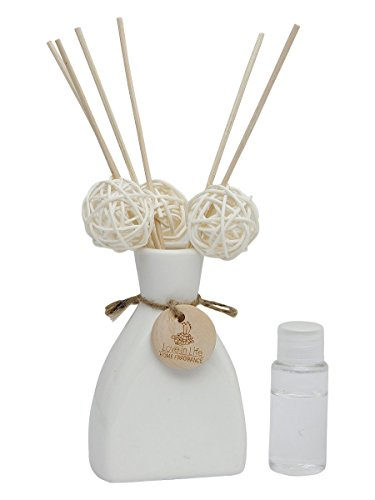 Puro Reed Diffuser Set With Ceramic Pot & Aroma Oil (Rose)