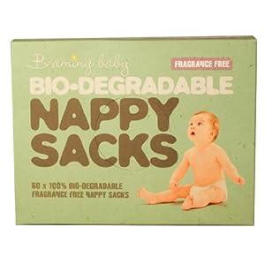 Bio-degradable Nappy Sacks FRAGRANCE FREE