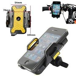 GENERIC Universal Bike Bicycle Handlebar Clip Holder For iPhone Smartphone
