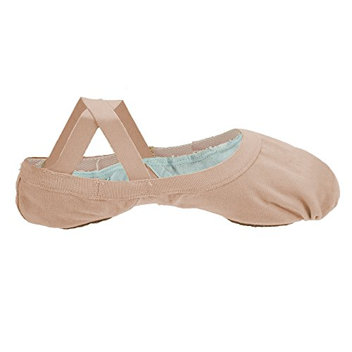 Bloch 621 Rosa Elastic Canvas Ballet 5.5L B Fitting