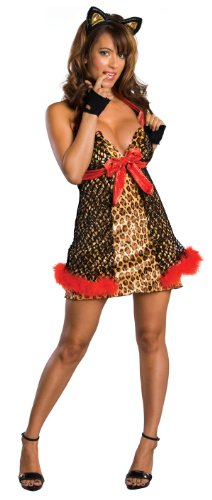 Secret Wishes Women's Enchanted Creature Adult Alley Cat Costume
