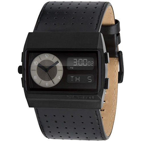 Vestal Monte Carlo Mid Frequency Collection Fashion Watches - Black/Black/Black