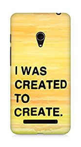 AMEZ i was created to create Back Cover For Asus Zenfone 5