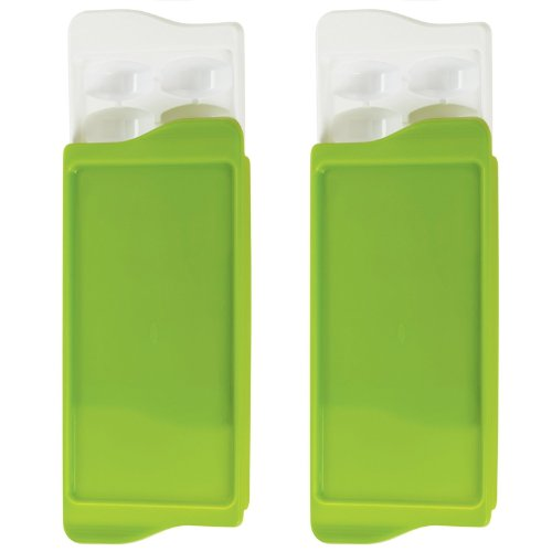 Oxo Tot Baby Food Freezer Tray - Green - 2 Pk