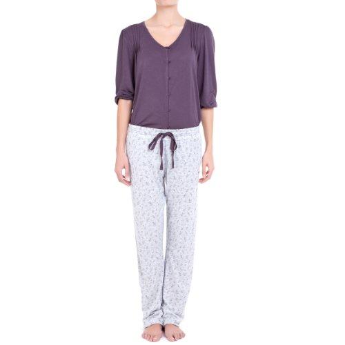 women'secret 3/4 Sleeve Floral Print Pyjama