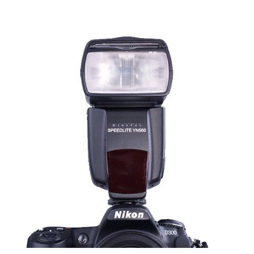 Electronic Speedlight Speedlite flash flashgun for Canon 1Ds,5D,7D,40D,50D,60D,450D,500D,550D,600D,1100D,Nikon D700,D300,D90,D60,D3,D2,D1,D7000,D5100,D5000,D3100,D3000,Olympus E620,E520,E450,E-30,E-5,E-3,Pentax,K-r,K-5,K-7,K-x,Fuji DSLR(Supprot 2 slave modes:E-TTL & i-TTL,YN560)