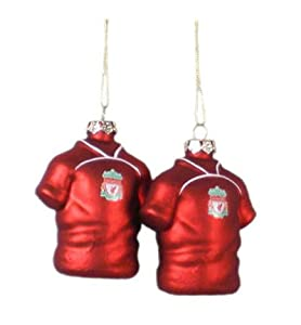 Liverpool Fc 2pk Shirt Baubles Lb by LIVERPOOL