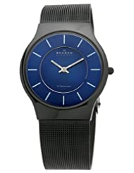 Skagen 233LTMN Titanium Black Watch