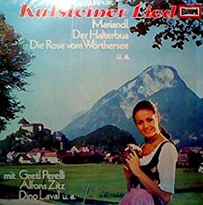 Gretl Perelli / Alfons Zitz - Canciones Del Tirol