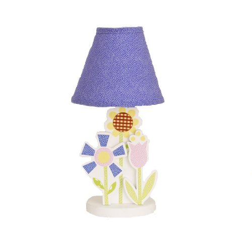 Cotton Tale Designs Spring Fling Decor Lamp, Pink/Blue