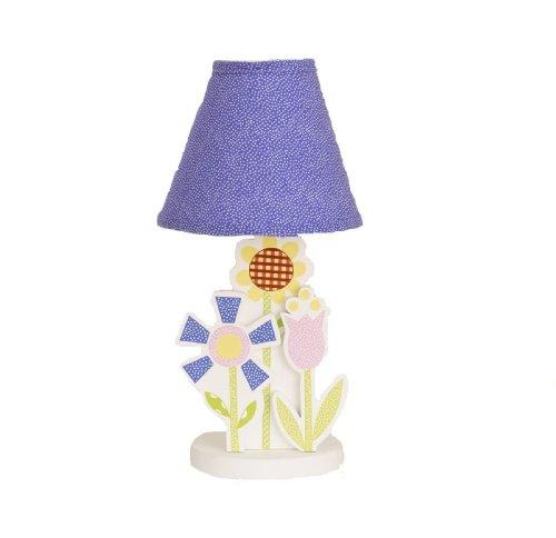 Cotton Tale Designs Spring Fling Decor Lamp, Pink/Blue - 1