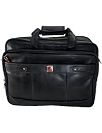 JEDEX Synthetic Leather Executive Office Bag/Laptop Bag, 16 InchesMN- EXPANDABLE. SPACE