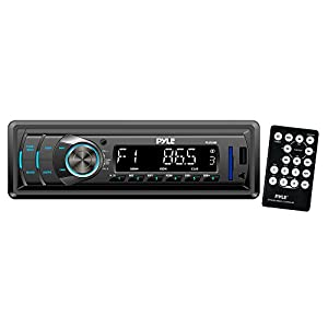 Pyle PLR34M In-Dash AM/FM-MPX Receiver with MP3 Playback and USB/SD/Aux Inputs