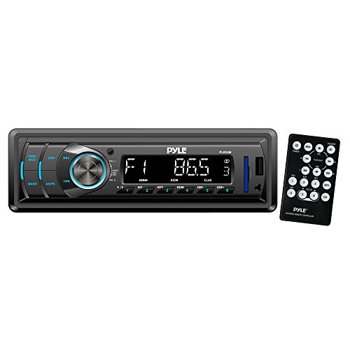 Pyle PLR34M In-Dash Stereo Radio Headunit Receiver, USB/SD Readers, AUX Input, MP3 Playback, Remote Control, Single DIN (Aux Cable For Mitsubishi compare prices)