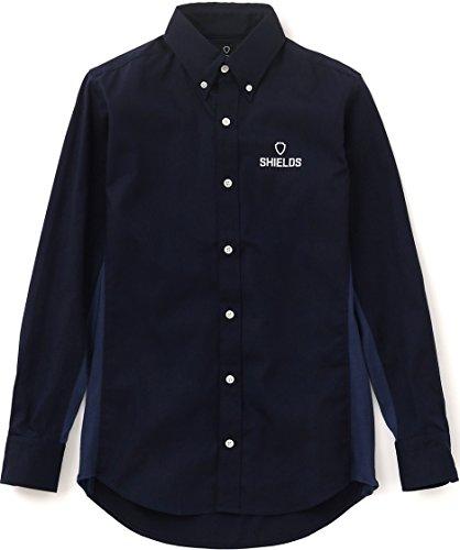 SHIELDS(シールズ) フットゴルフ ボタンダウンシャツ SHFG-1503 ネイビー S