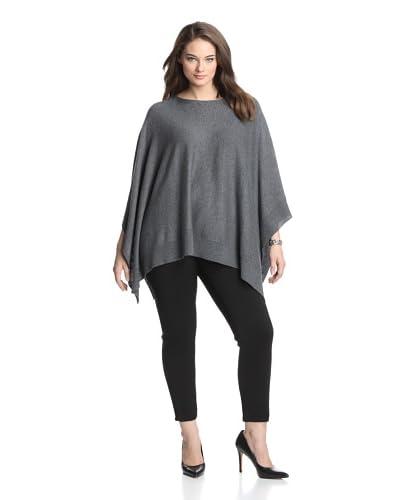 Acrobat Women's Plus Cashmere & Silk Blend Poncho