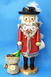 "17"" Steinbach Christmas Legends Swiss Santa Claus ltd Edition Musical Nutcracker"