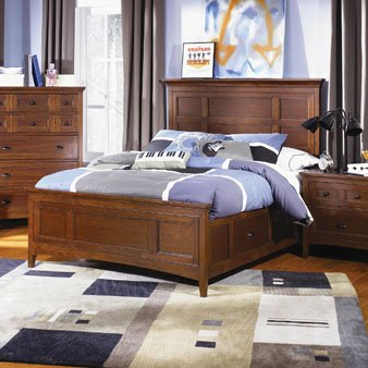 Magnussen Riley Complete Panel Bed