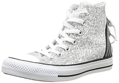 Converse Chuck Taylor All Star Femme Animal Tri Zip Hi 382120 Damen Sneaker
