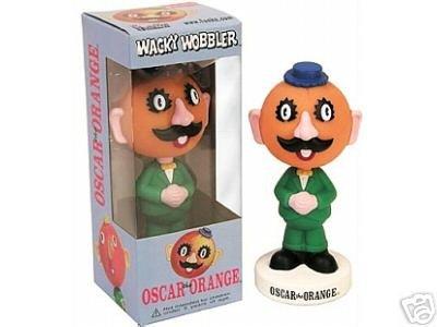Funko Wacky Wobbler Bobble Head Oscar the Orange