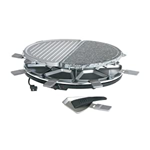 Trudeau 1200 Watt Aluminum Rockin' Grill Party Grill Set, Set of 19-Pieces