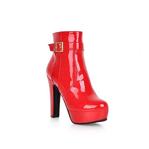 adeesu-damen-chelsea-boots-rot-rot-grosse-36