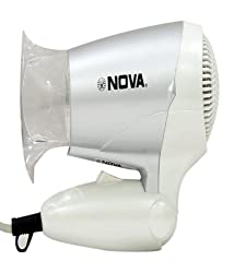 Nova NHD 2807 Hair Dryer (White/Grey)