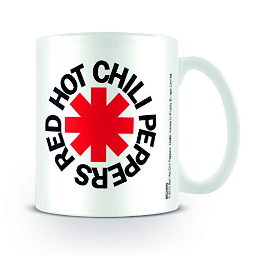 Europosters Tazza Red Hot Chili Peppers, Bianco
