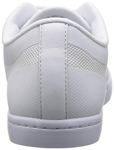 Lacoste Women's Straightset 116 4 Fashion Sneaker, White, 8 M US