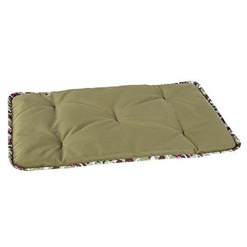 Ferplast 81081023 Jolly 85 Cuscino in Materiale Tecnico, Resistente e Idrorepellente 85 x 50 cm per Cani, Verde