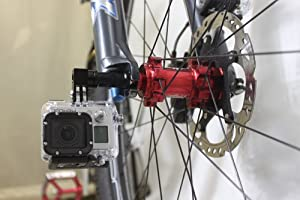 REC-MOUNTS クイックリリース(クイックレリーズ)マウント Quick release skewers mount [REC-B63] for GoPro HERO3 HERO2 HD-HERO GoPro3 (ゴープロ)用 or  Light