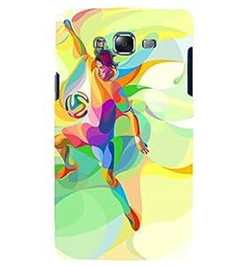 PRINTSHOPPII HEART LOVE Back Case Cover for Samsung Galaxy J7::Samsung Galaxy J7 J700F