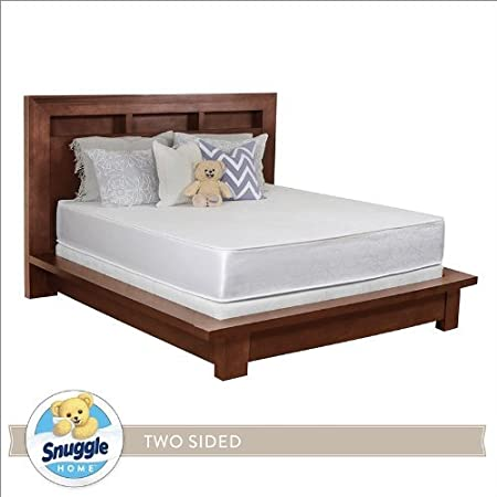 Snuggle Home 8 Inch Foam Two Sided Mattress KING