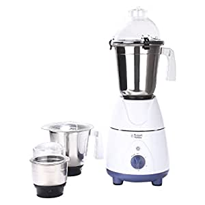 buy russell hobbs rmg7500 750 watt mixer grinder off white and sky blue online at low prices. Black Bedroom Furniture Sets. Home Design Ideas