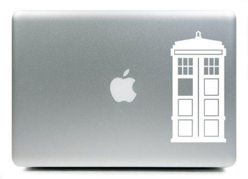 "Doctor Who Tardis iPad Car Notebook Decal Sticker 4"""