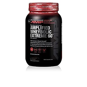 GNC Pro Performance AMP Amplified Wheybolic Extreme 60 Chocolate - 3 Pounds