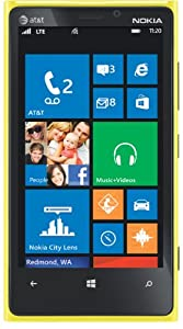 Nokia Lumia 920 4G Windows Phone, Yellow (AT&T)