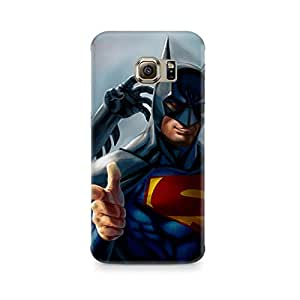 Ebby Superman with Batman Mask Premium Printed Case For Samsung Note 7