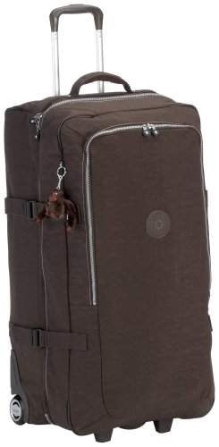 Kipling Camoso Expresso Brown Collapsible Large Trolley