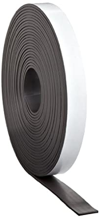 "Flexible Magnet Tape - 1/16"" thick x 1"" wide x 100 feet (1 roll)"