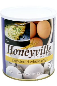 Powdered Whole Eggs - 2.25 Pound Can