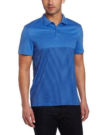 (疯抢)Calvin Klein Sportswear Engineered男士纯棉短袖Polo衫2色折后$24.57