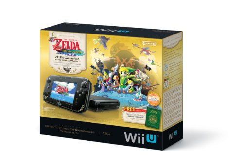 The Legend of Zelda - The Wind Waker HD Limited Edition Bundle - Nintendo Wii U