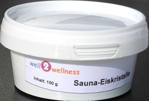 Sauna Eiskristalle 100 g aus Minzöl