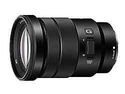 Sony SELP18105G E PZ 18-105mm F4 G OSS Lens (Black)