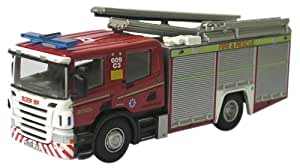 Oxford Diecast Oxford Diecast Model 1:76 Cleveland Fire & Rescue Fire Truck Collectable Gift