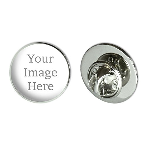 Graphics and More Self-eez(TM) Custom Personalized Small Round Lapel Hat Pin Tie Tack (Custom Pin Buttons compare prices)