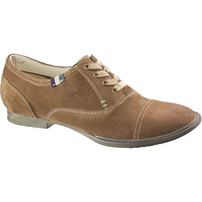 (3.6折)暇步士Hush Puppies Women's Postcard Flat美女真皮休闲鞋黑色  $36.04